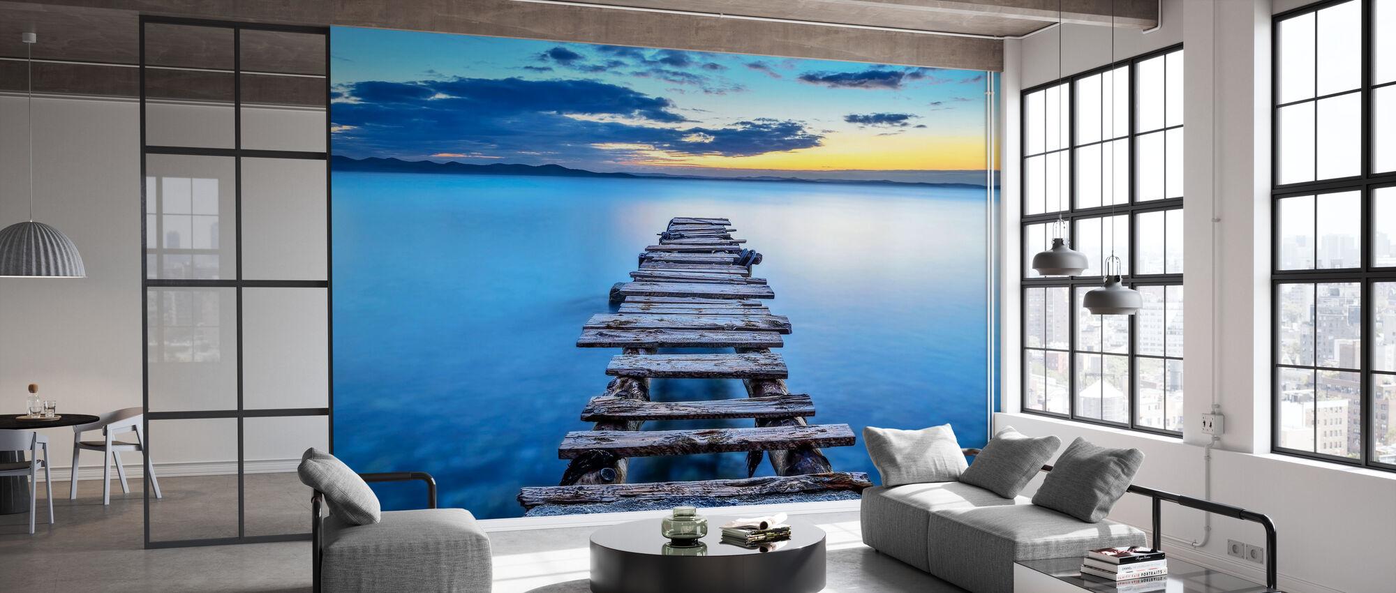 Pier - Wallpaper - Office
