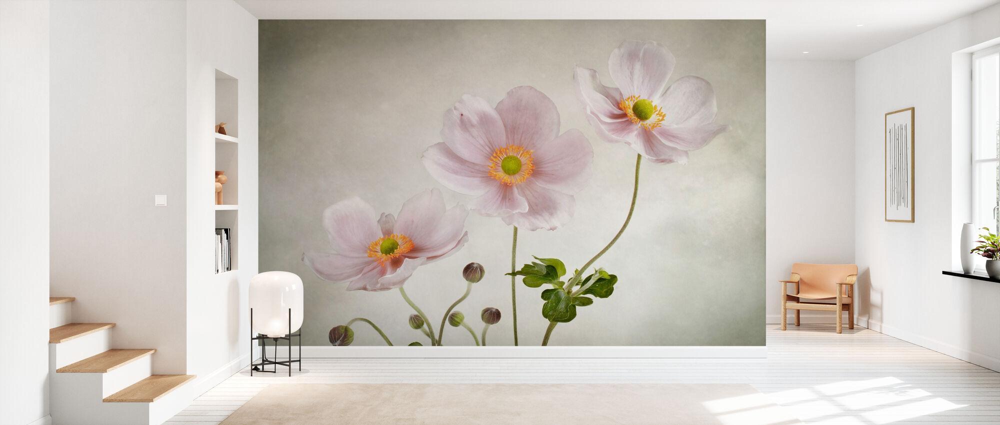 Anemones - Wallpaper - Hallway
