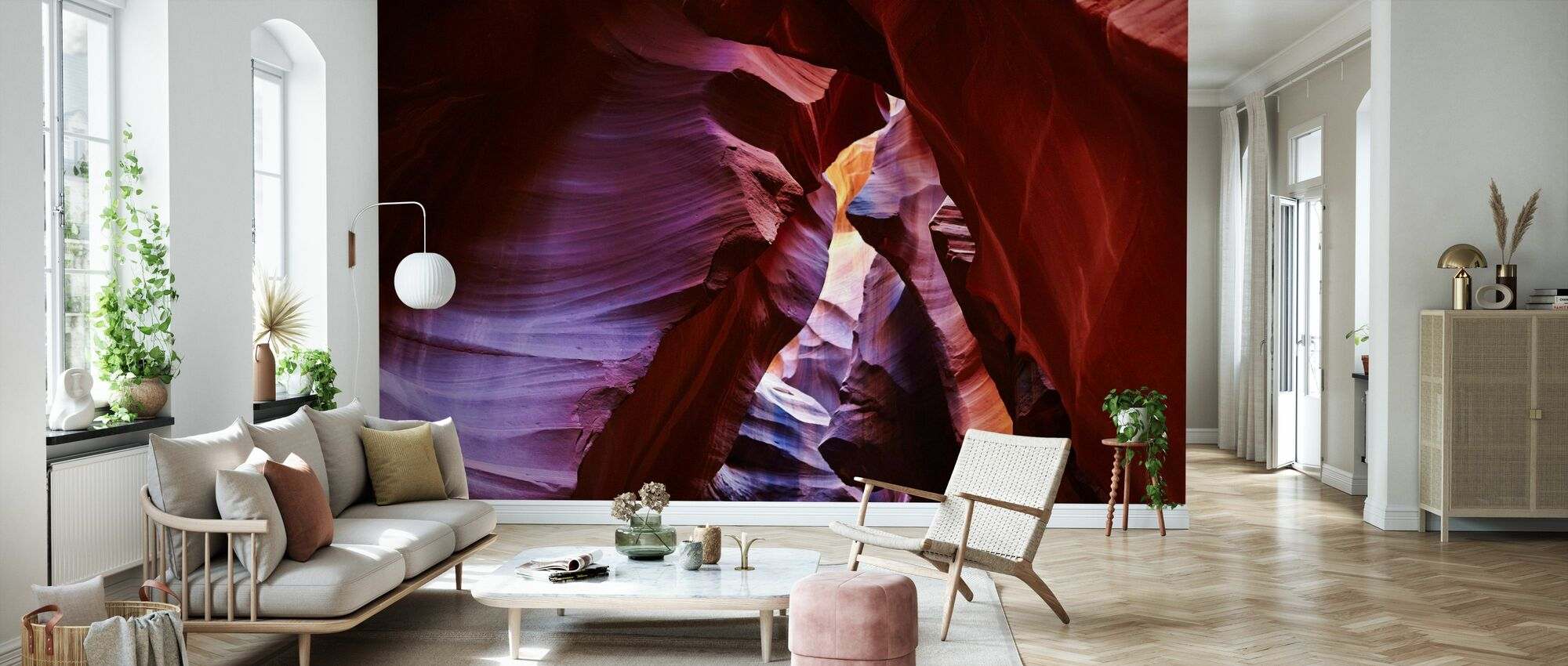 Antelope Canyon - Wallpaper - Living Room