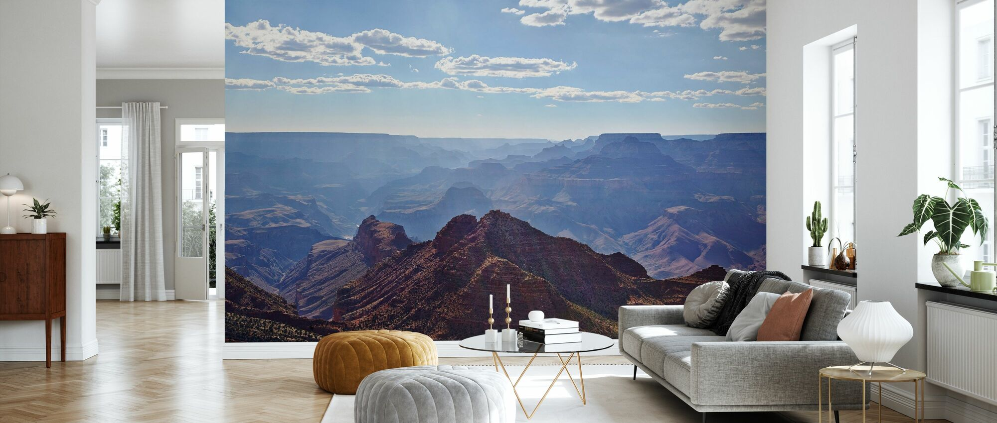 View Over Grand Canyon - Wallpaper - Living Room