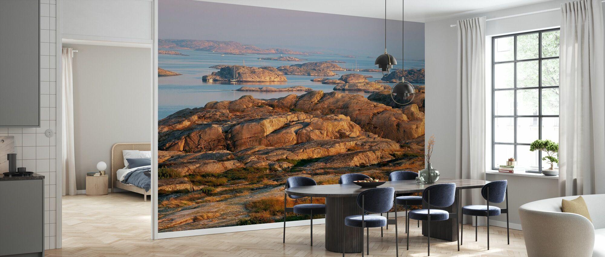 Utsikt over den svenske Vesten Kostnad på Gluppo - Tapet - Kjøkken