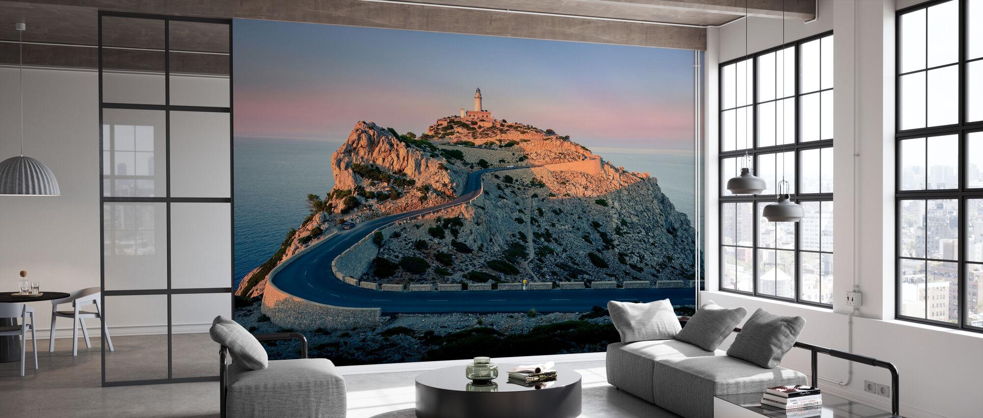 Lighthouse at Cap Formentor - Mallorca - Wallpaper - Office