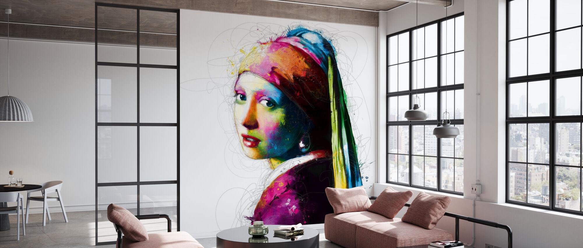 Vermeer Pop - Tapet - Kontor