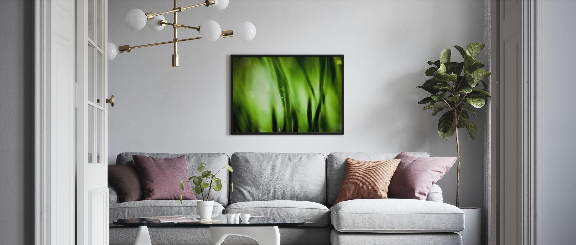 Green Garden - Poster - Living Room