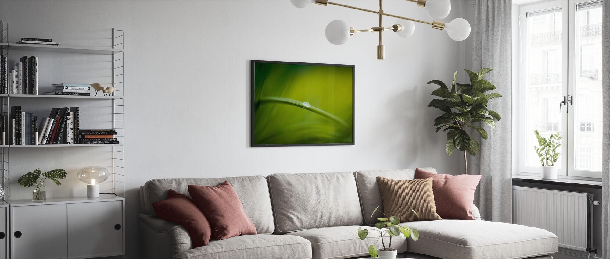 Majestetisk grønn natur - Plakat - Stue