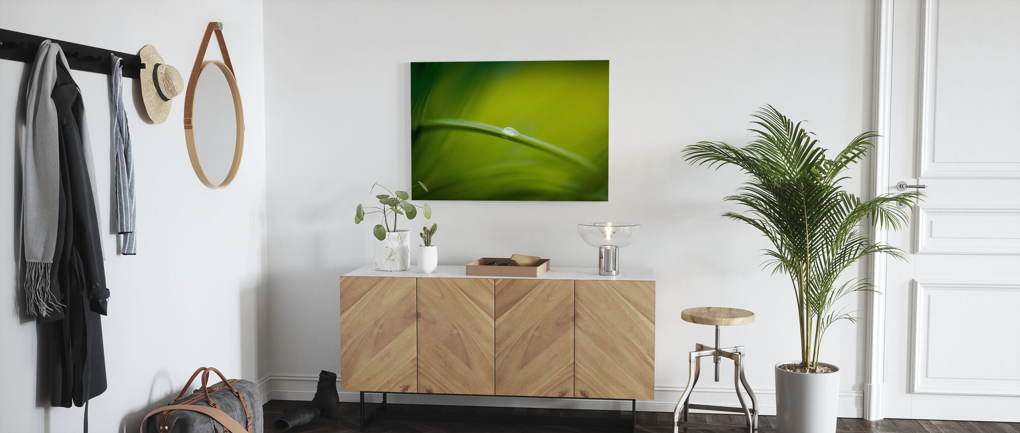Majestic Green Nature - Canvas print - Hallway