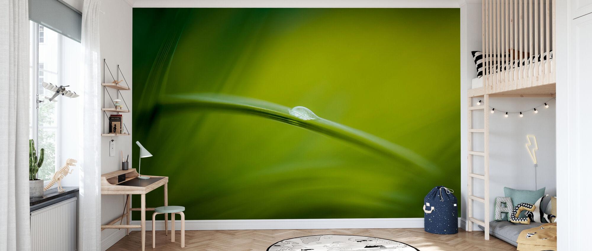 Majestic Green Nature - Wallpaper - Kids Room