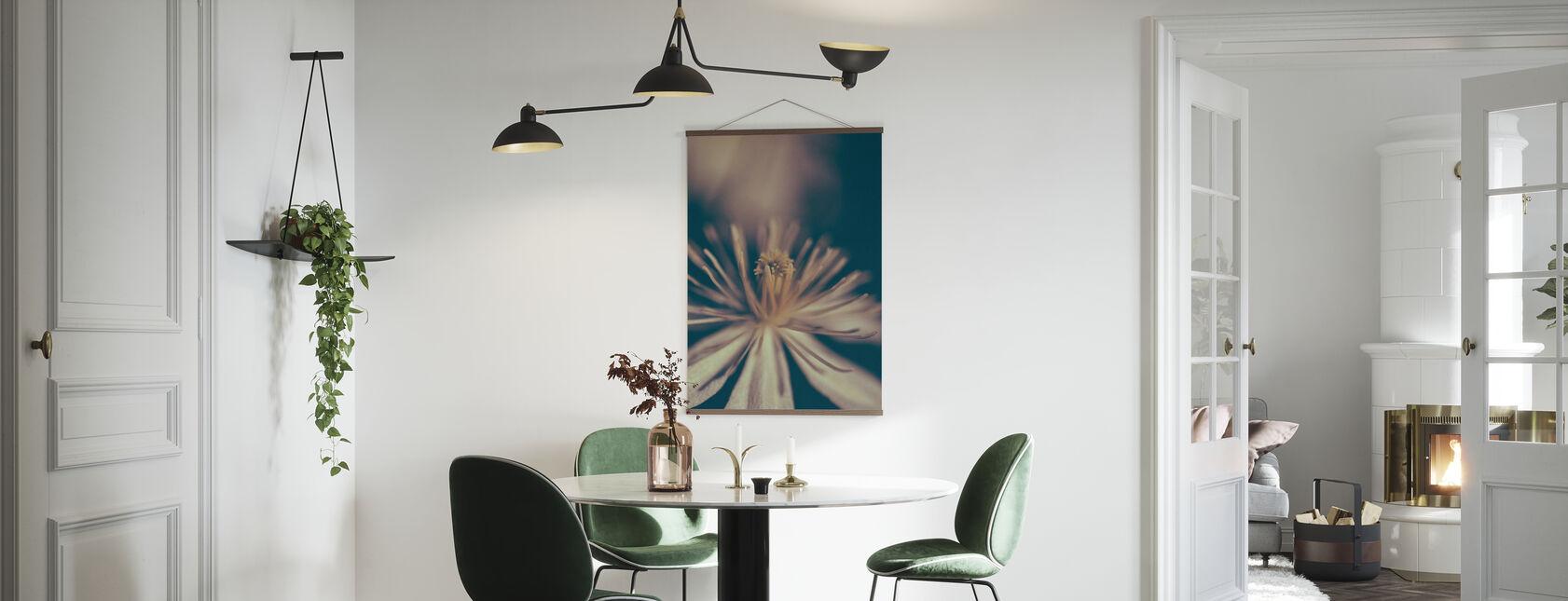 Retro blomma - Poster - Kök
