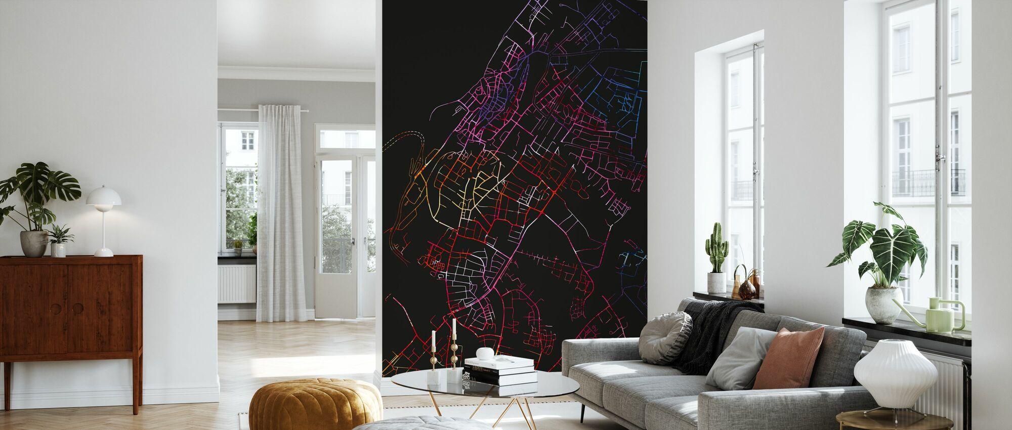 Visby in Sweden - Map – wall murals online – Photowall