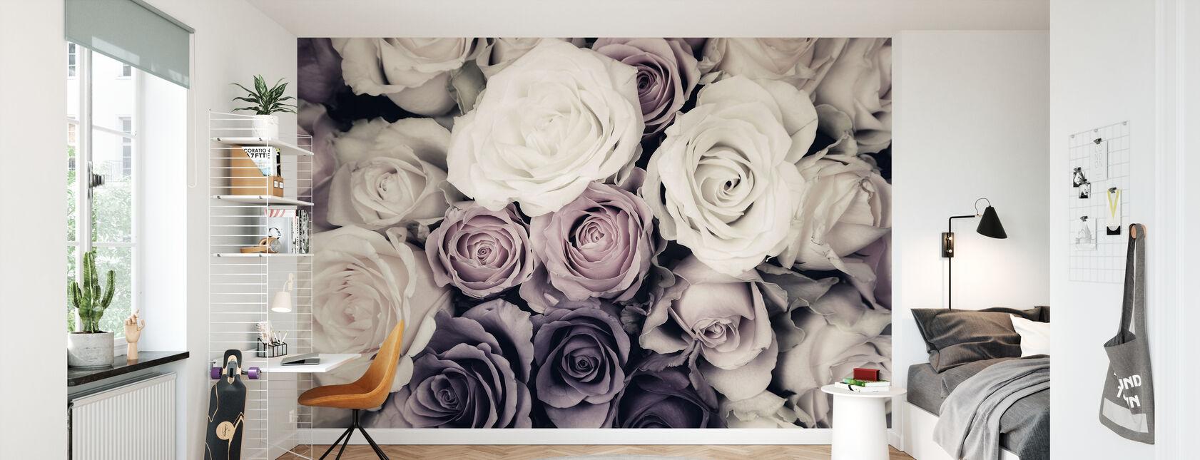 Dark Roses - Wallpaper - Kids Room
