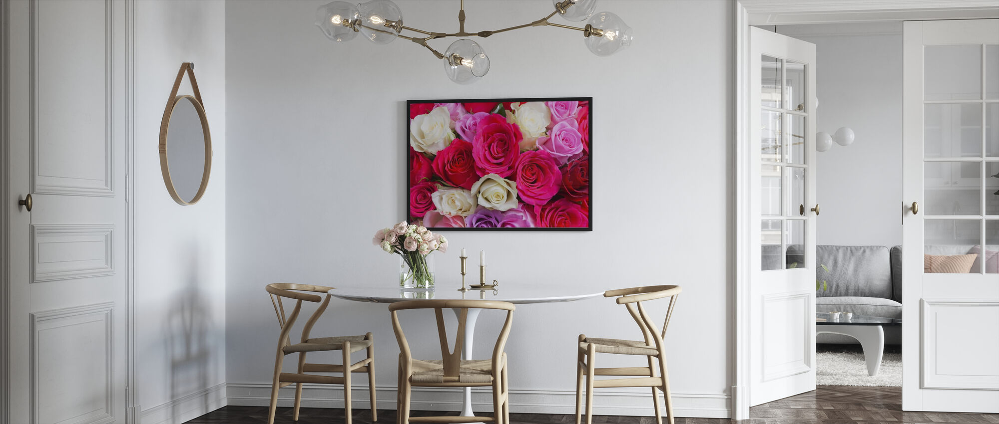 Beautiful Roses - Poster - Kitchen