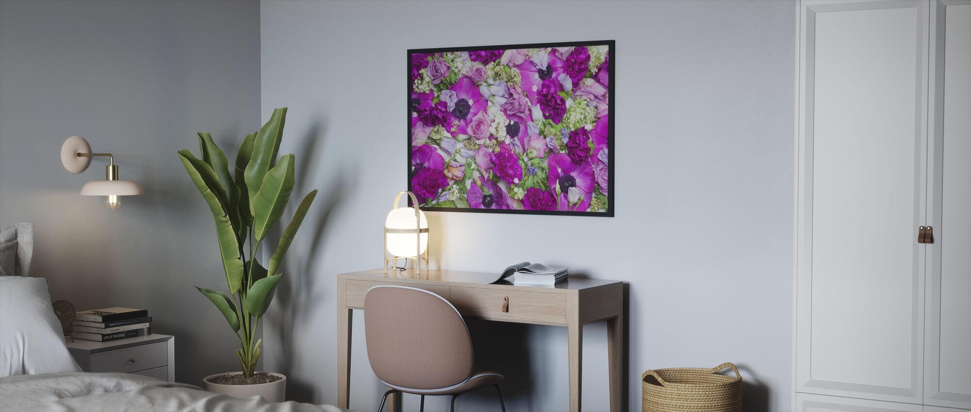 Färska blommor - Poster - Sovrum