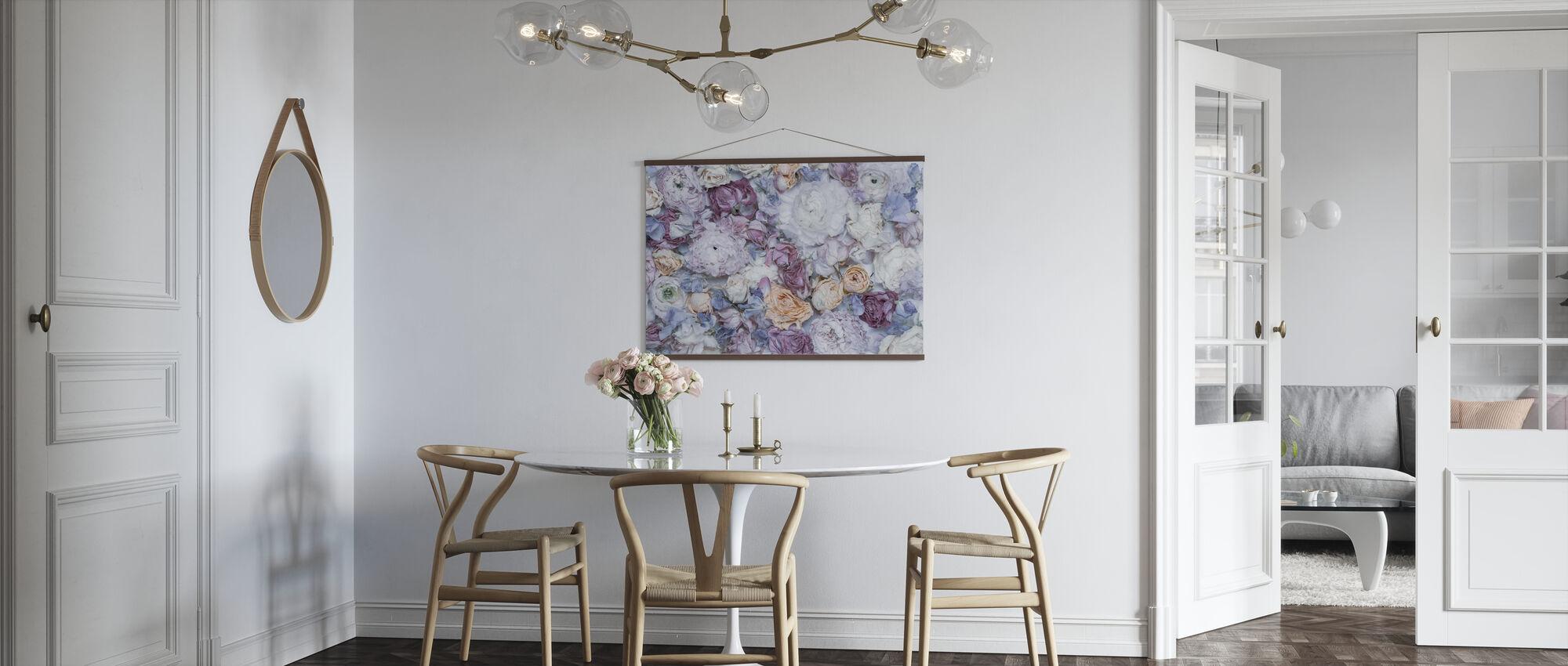 Trädgård rosor III - Poster - Kök