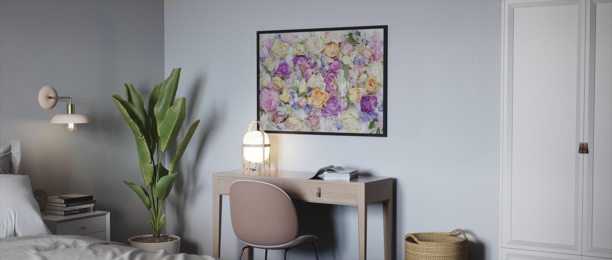 Lovely Flowers - Poster - Bedroom