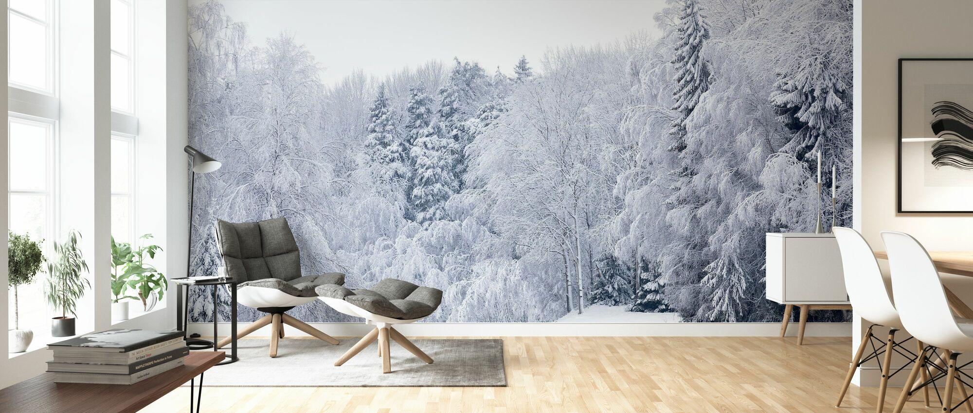 Skov Sne - Tapet - Stue