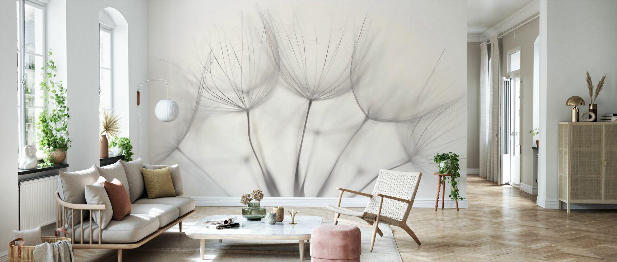 Delicate - Wallpaper - Living Room
