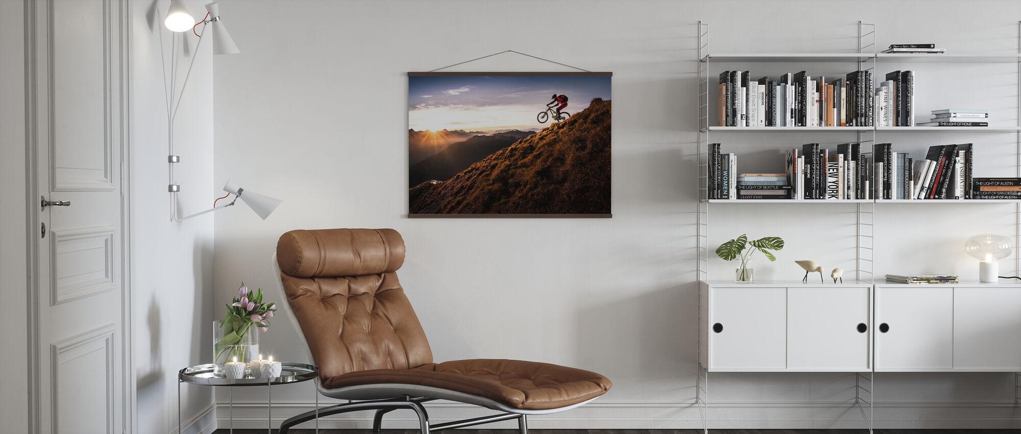 Erleben Sie das Abenteuer - Poster - Wohnzimmer