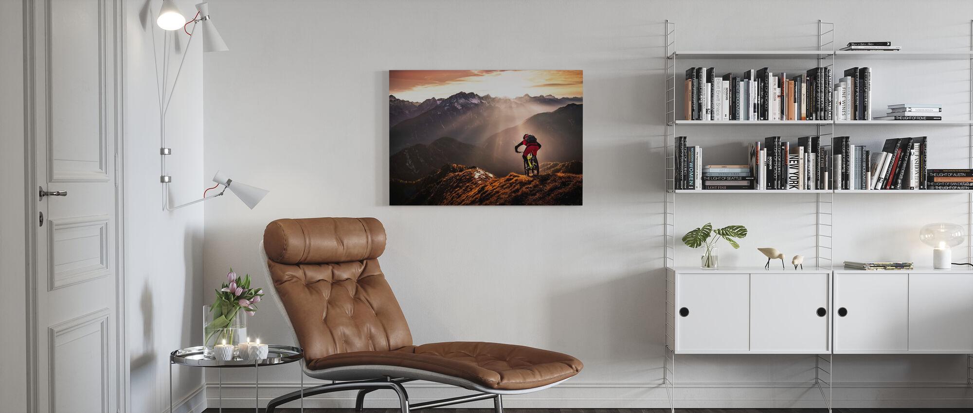 Gewoon rijden - Canvas print - Woonkamer