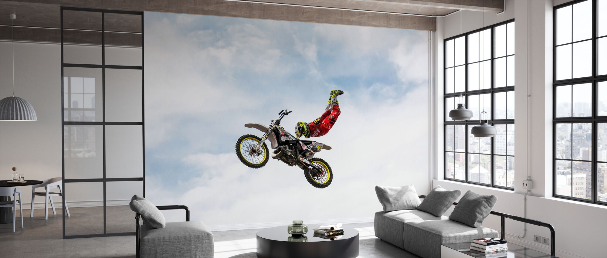 No Hands Superflyer - Wallpaper - Office