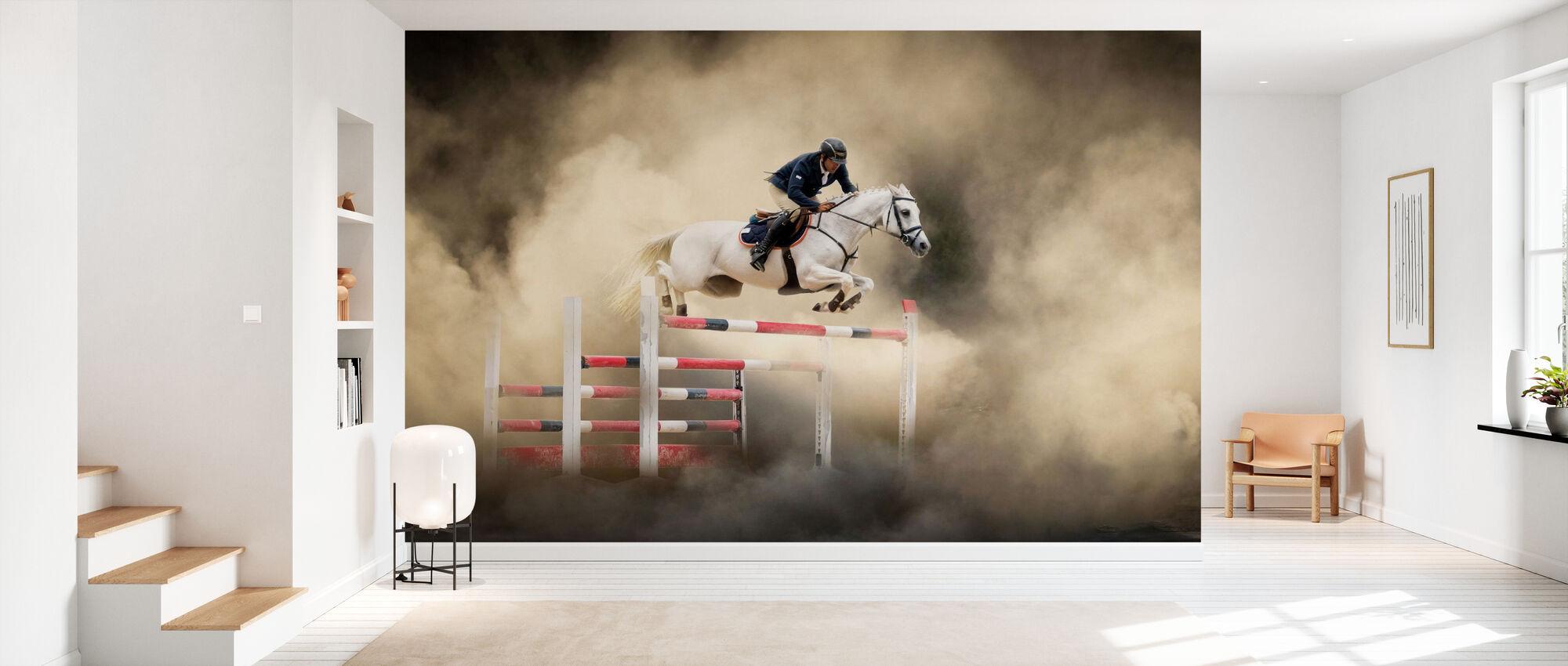 Valkoinen hevonen - Tapetti - Aula