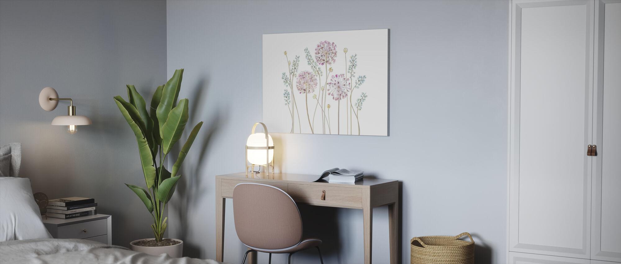 Allium - Canvas print - Office