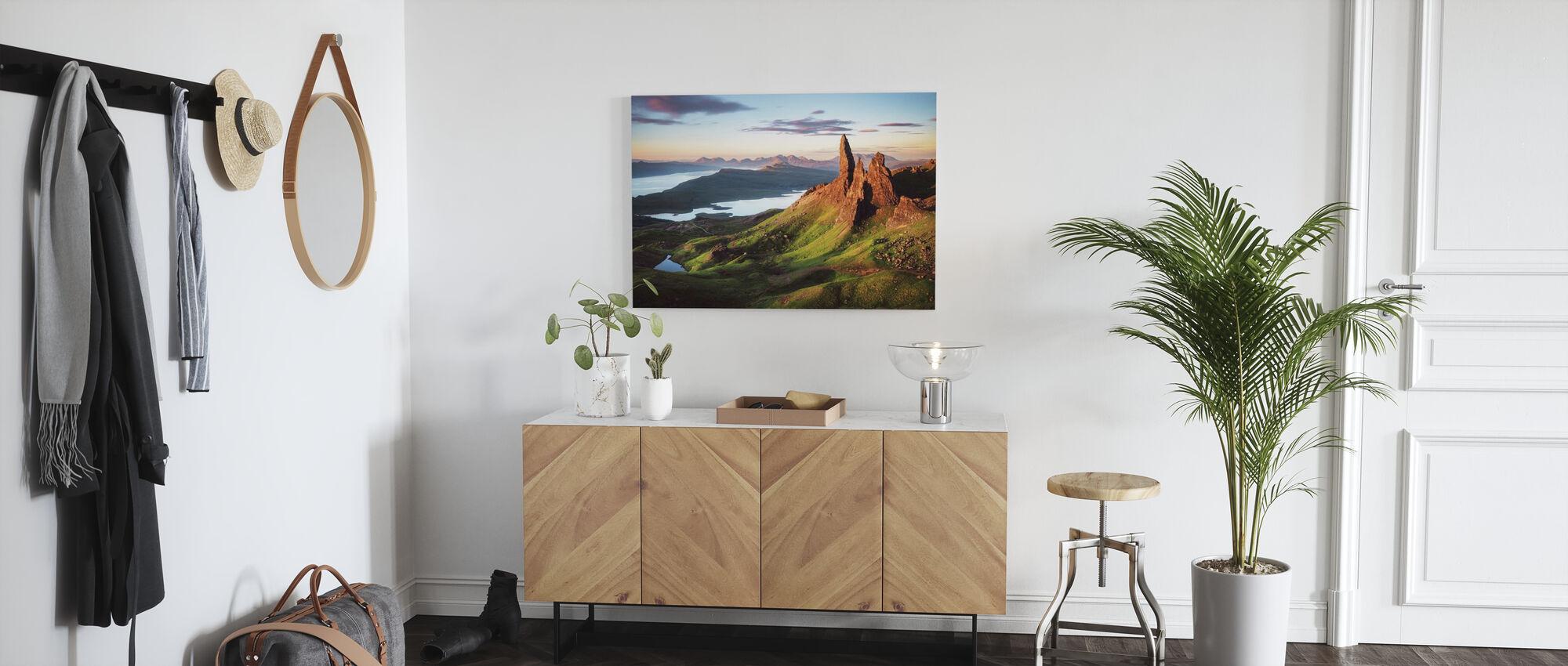Scotland - Old Man of Storr - Canvas print - Hallway
