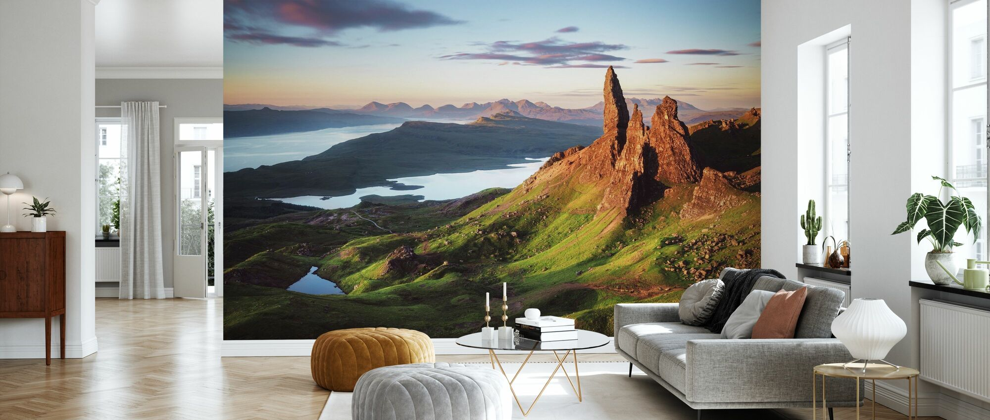 Scotland - Old Man of Storr - Wallpaper - Living Room