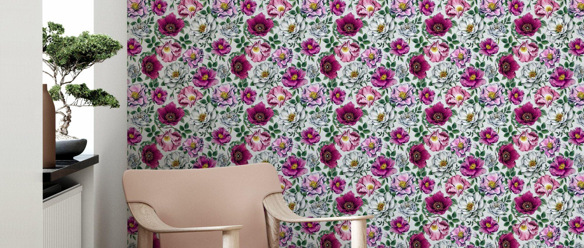 Kerstin Bright - Wallpaper - Living Room
