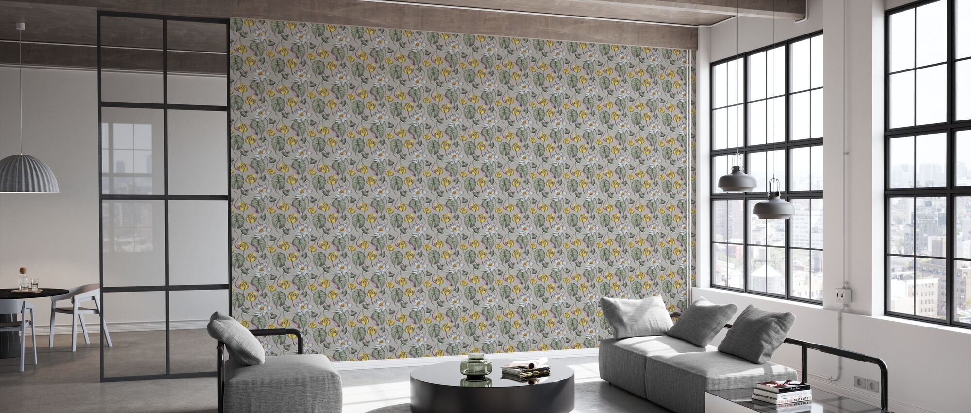The Lily Pond Mist - Wallpaper - Office