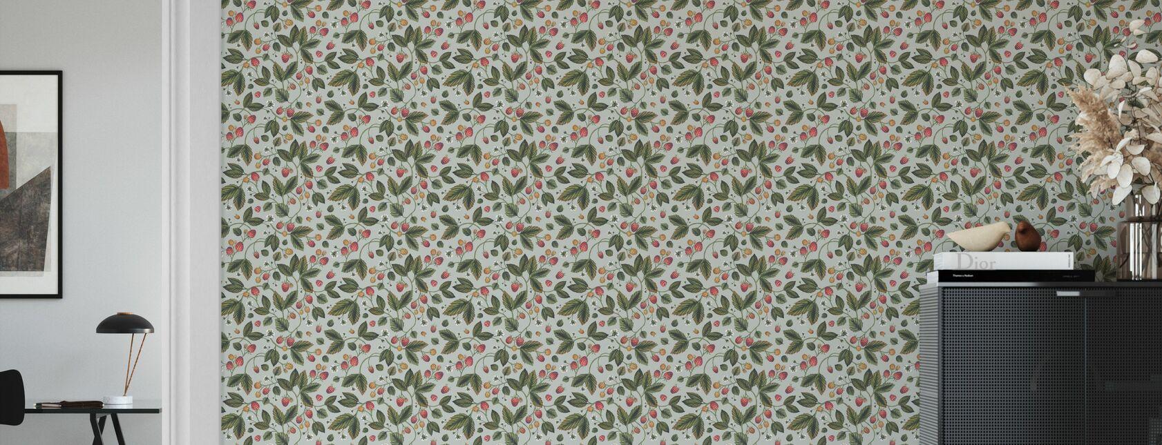 The Raspberry Garden Hell - Tapete - Wohnzimmer