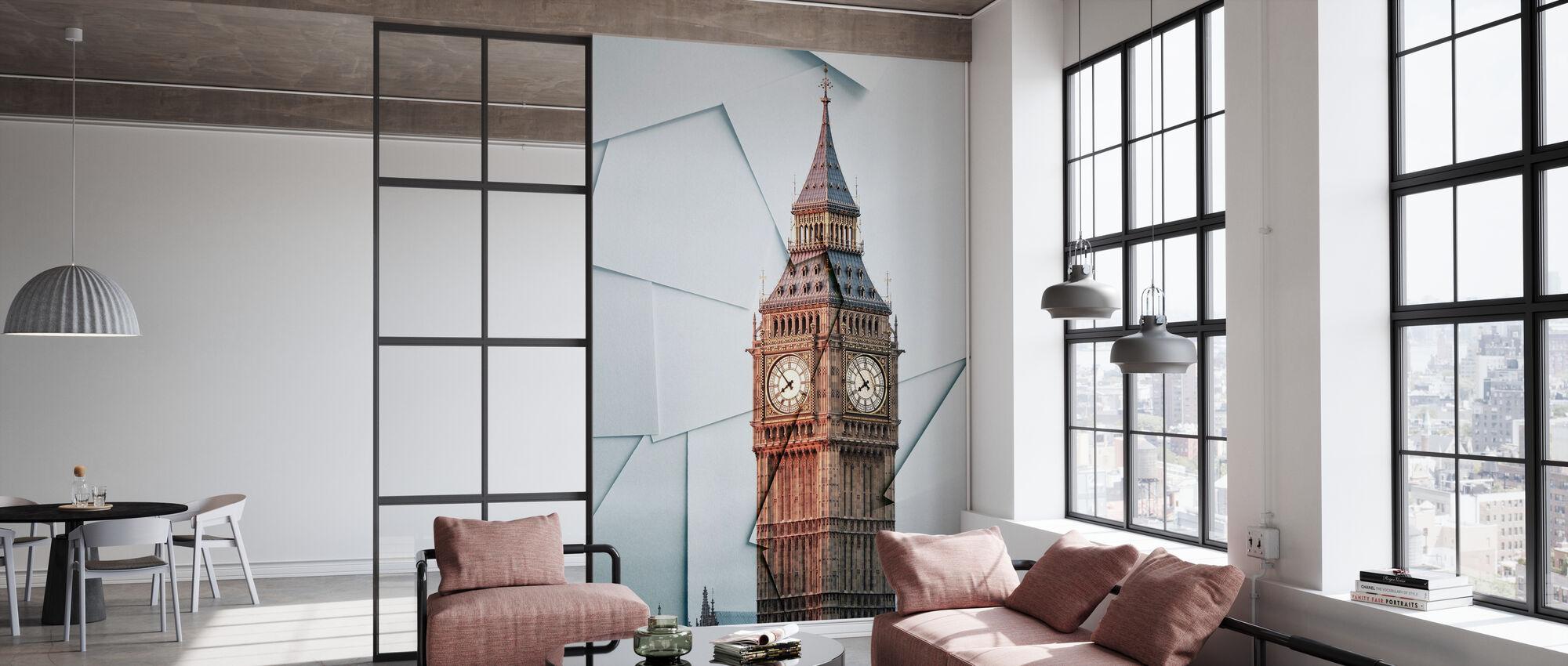 London utsikt - Tapet - Kontor