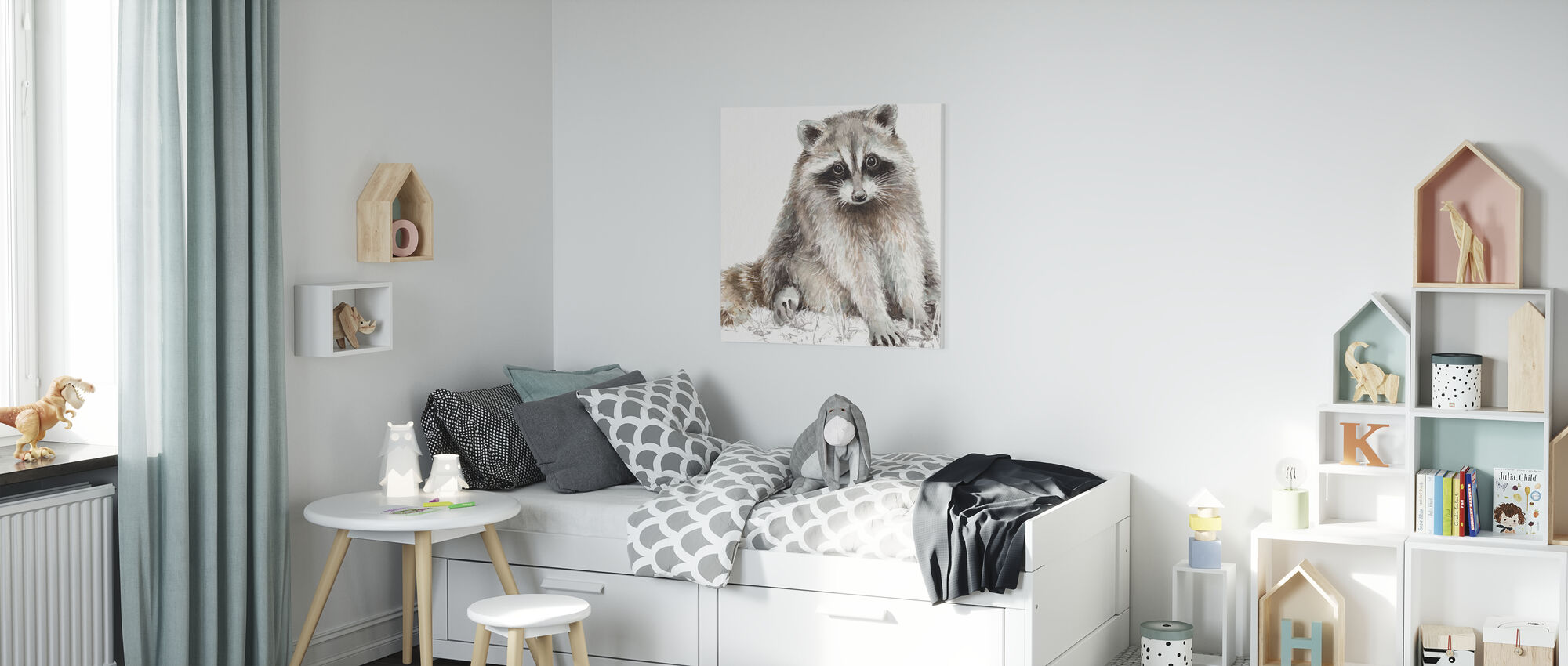 Forest Friends IIII - Canvas print - Kids Room