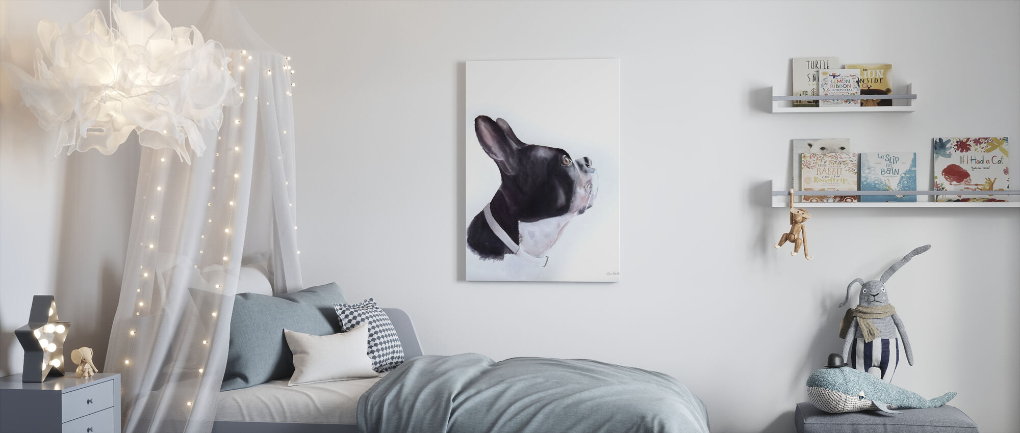 Breakfast Time - Canvas print - Kids Room