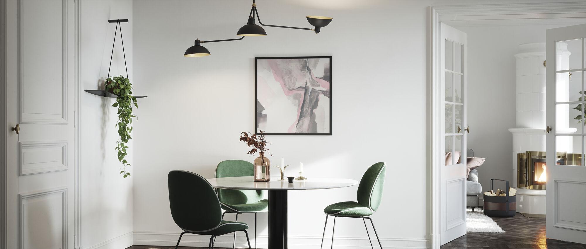 Blushing Gray - Poster - Kitchen