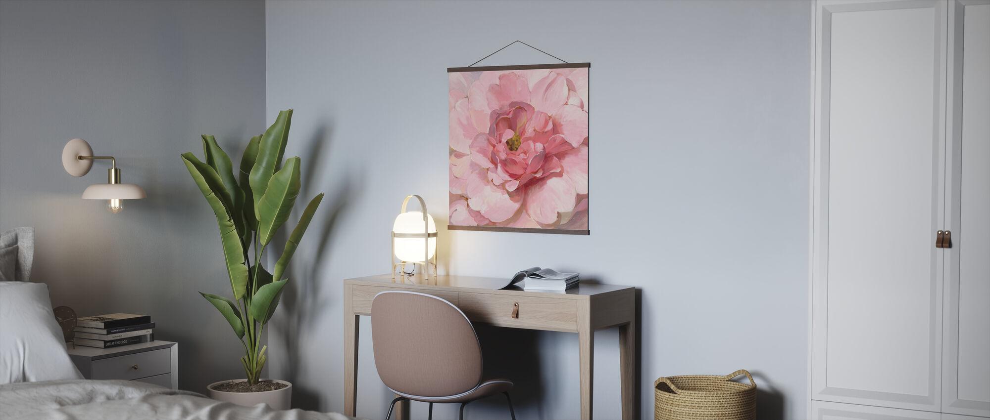 Blushing Peony - Poster - Office