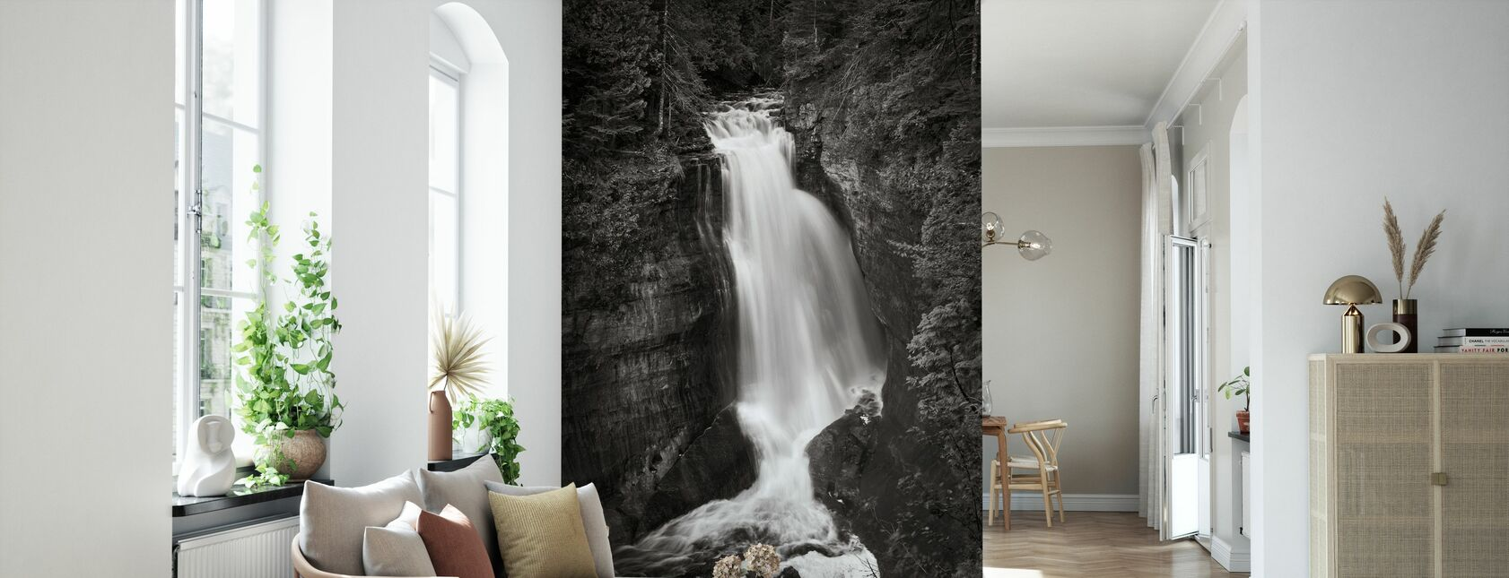 Gruvarbetare Falls Michigan - Tapet - Vardagsrum