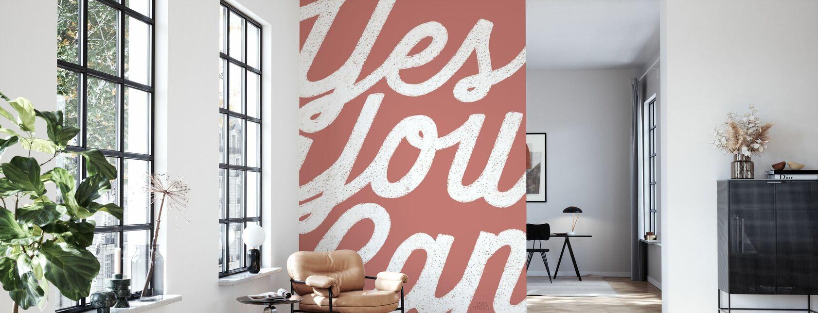 Positivity - Wallpaper - Living Room