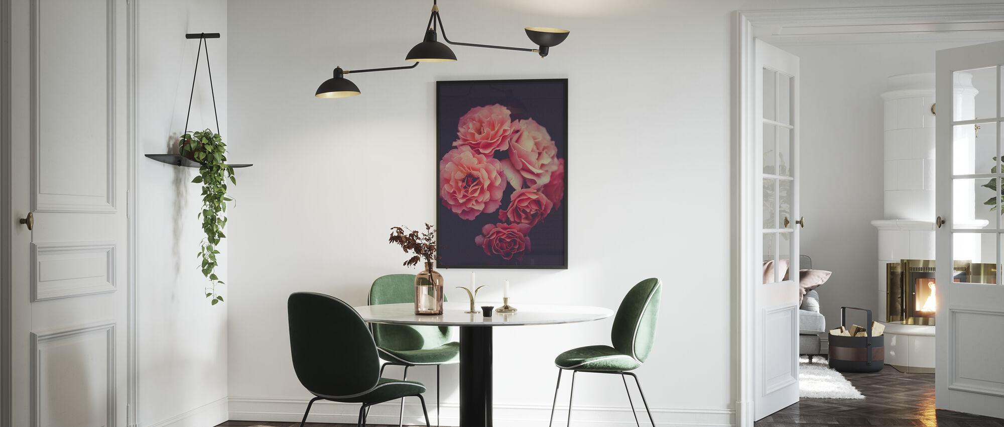 Rose Bouquet - Framed print - Kitchen