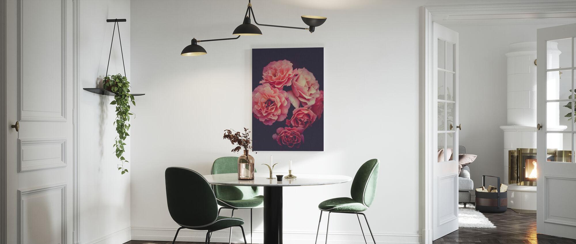 Rose Bouquet - Canvas print - Kitchen