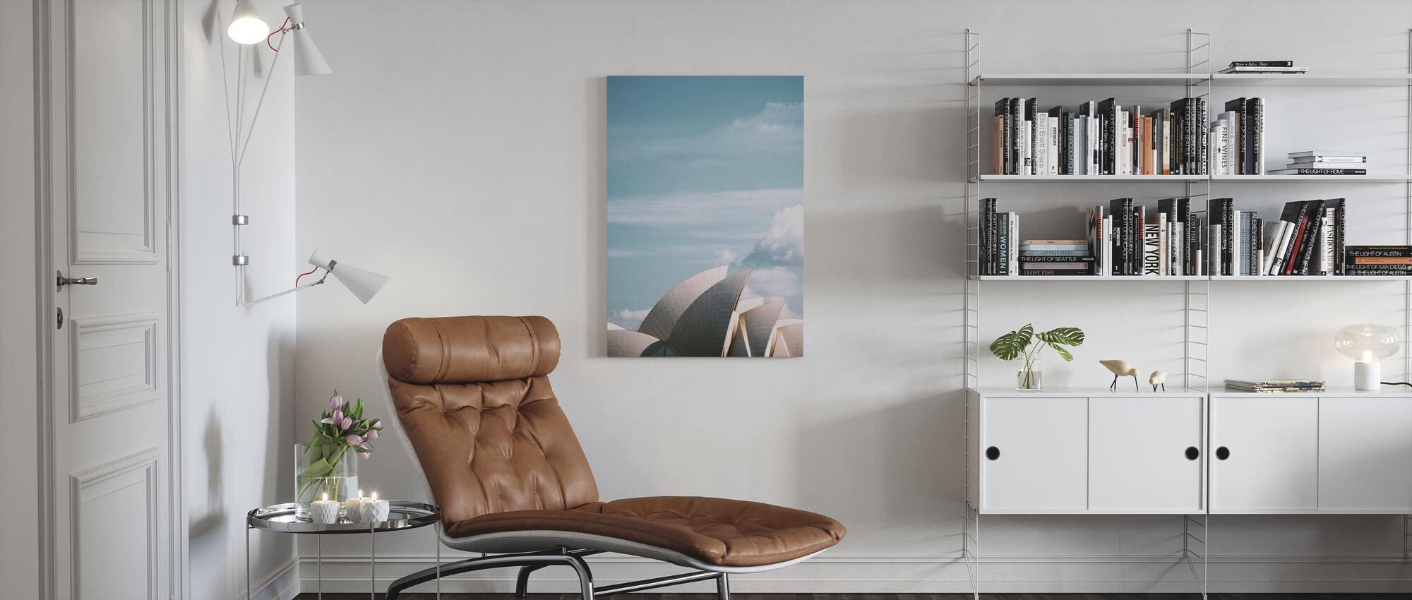 Sydney Opera House - Canvas print - Living Room