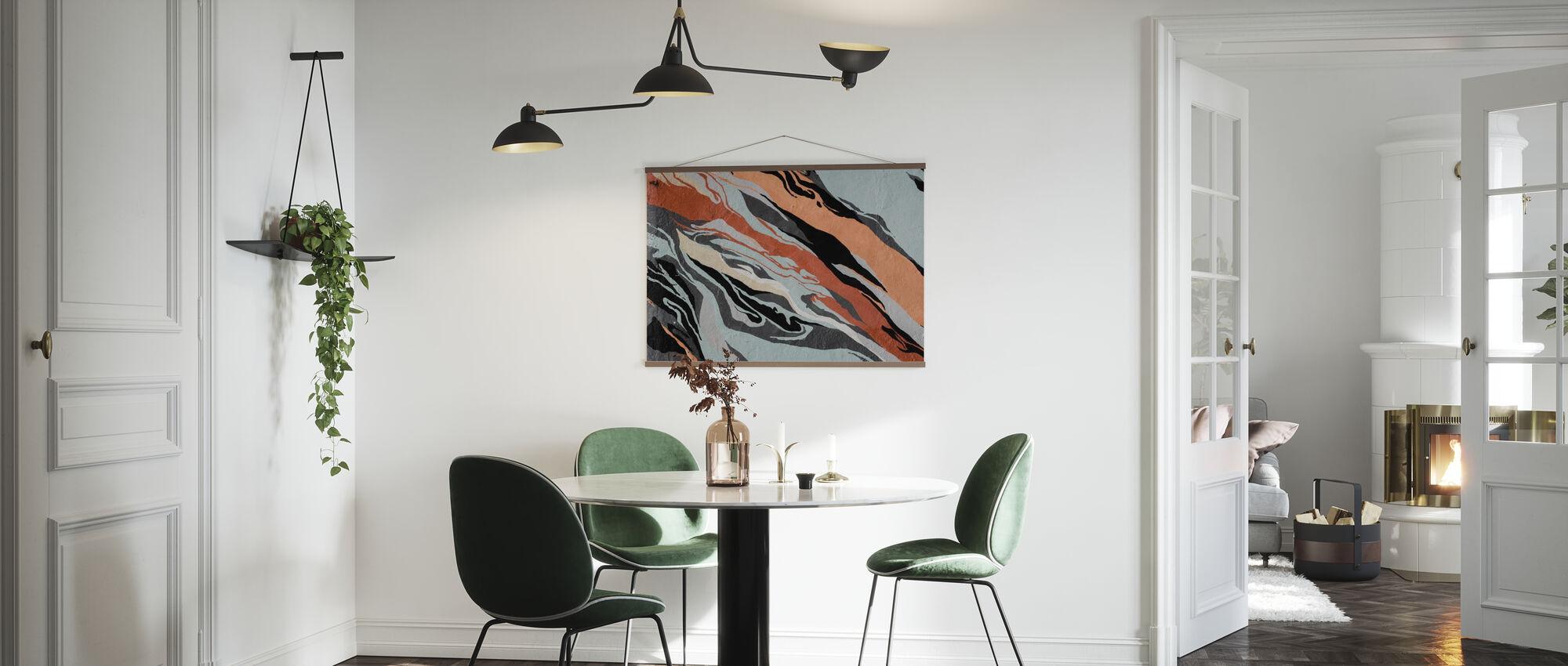 Abstraktes Muster - Poster - Küchen