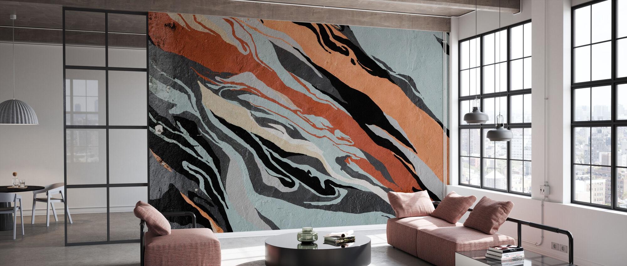 Abstract patroon - Behang - Kantoor