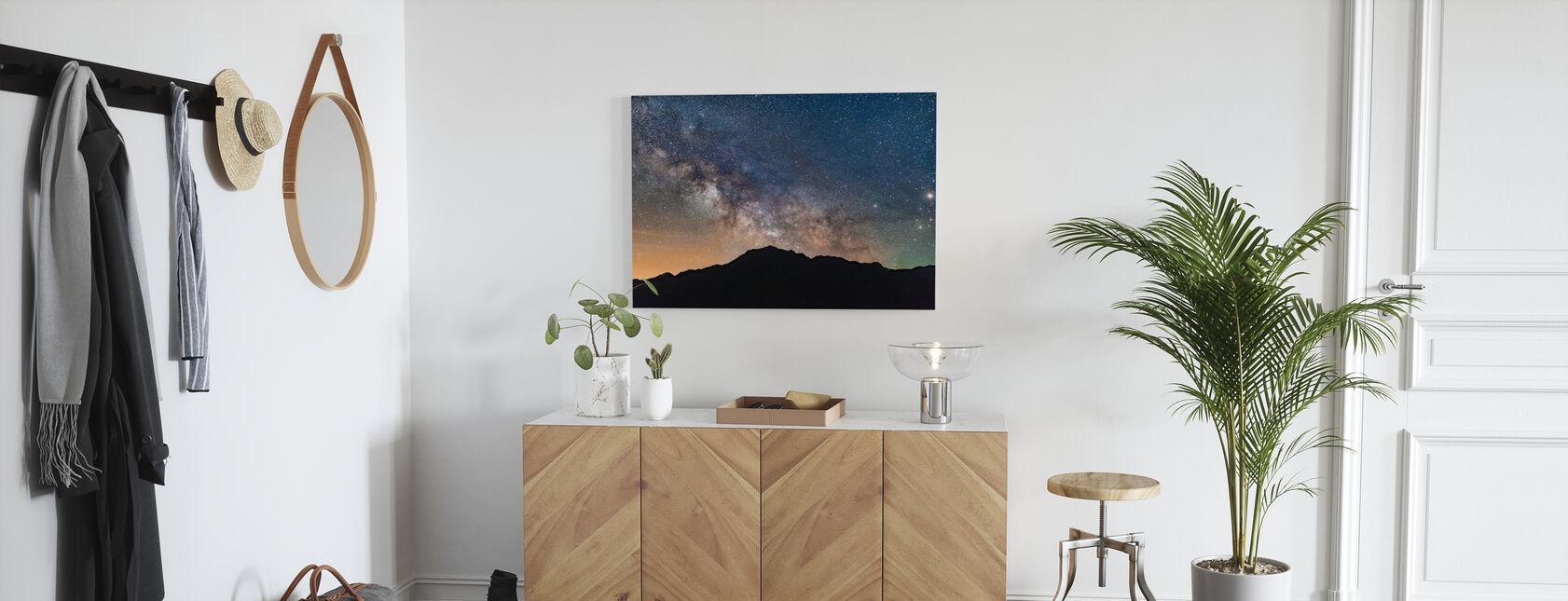 Uitzicht op de Melkweg - Canvas print - Gang