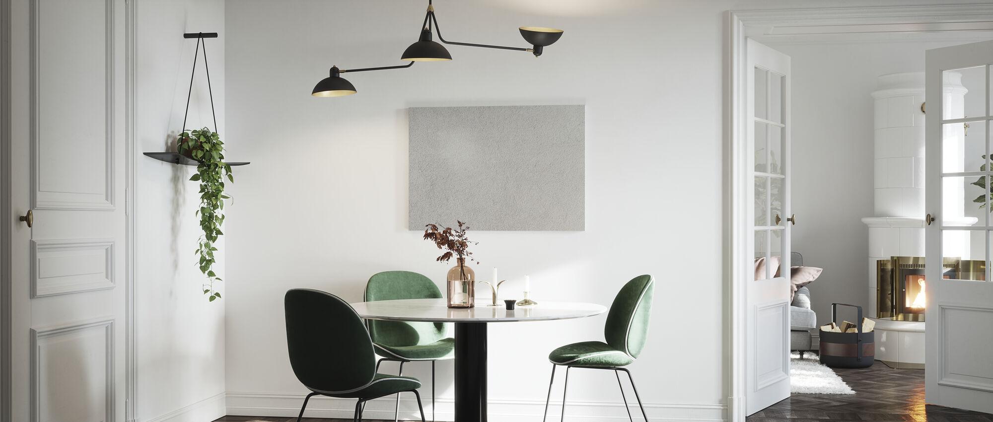 Solid Stone Backdrop - Canvas print - Kitchen