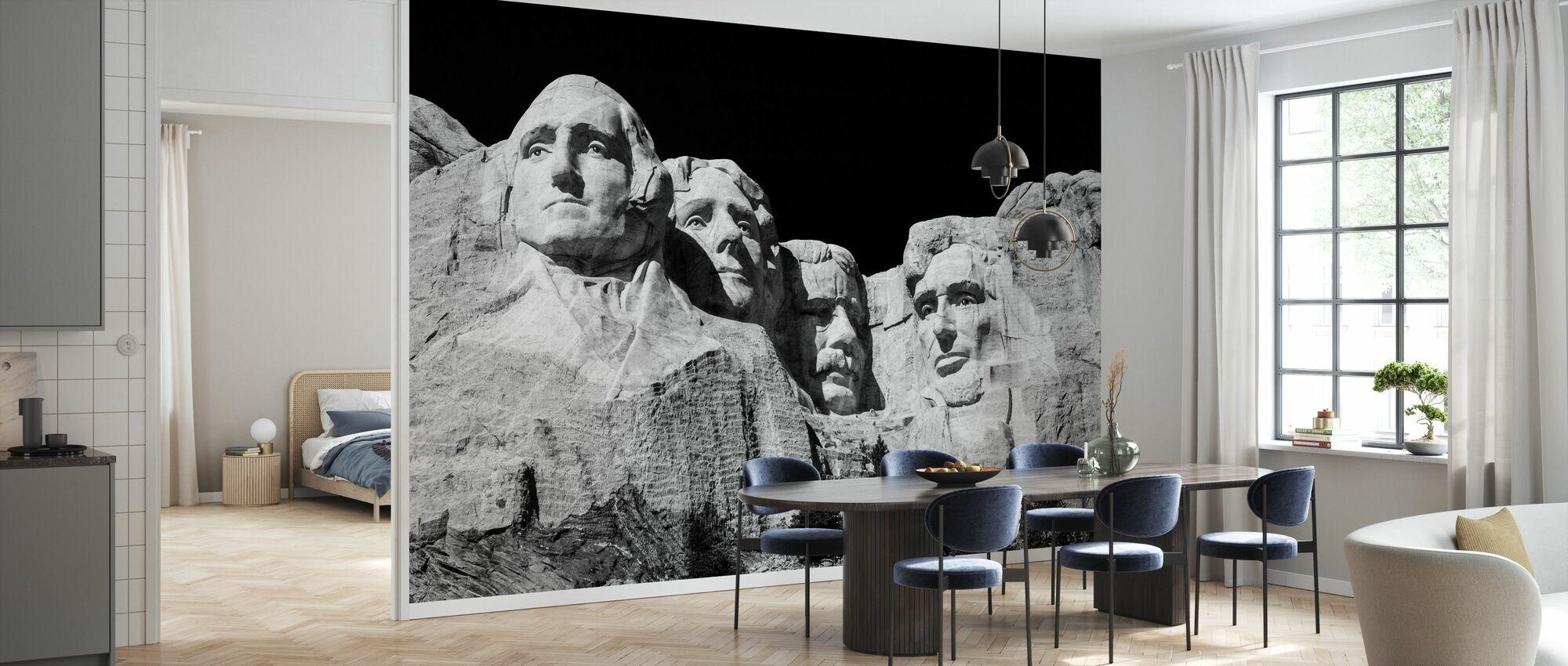 Mount Rushmore - Wallpaper - Kitchen