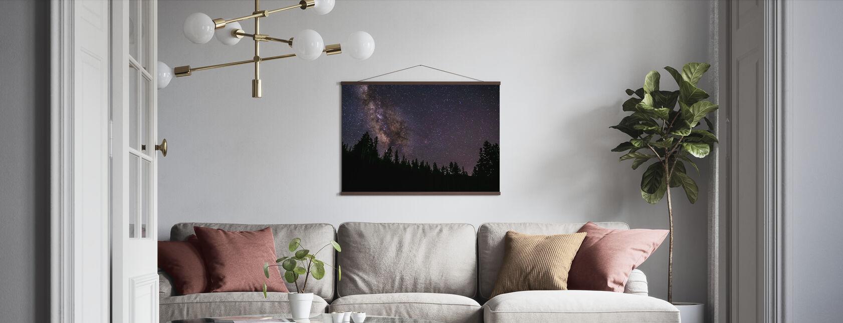 Melkweg - Poster - Woonkamer