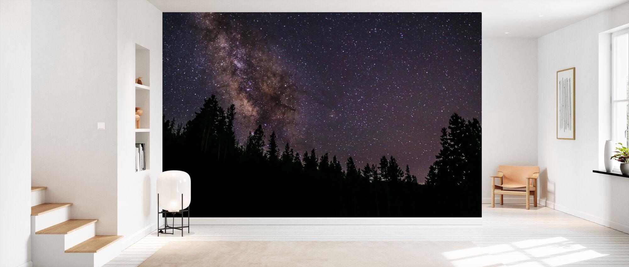 Milky Way - Wallpaper - Hallway