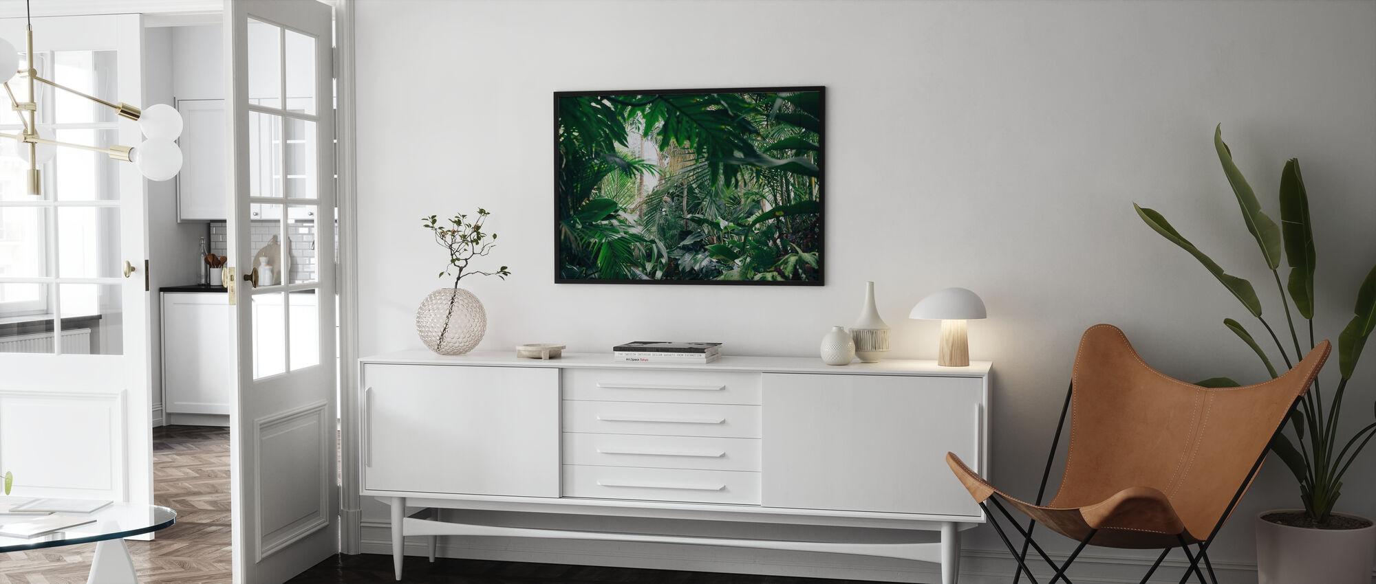 Jungle Planter - Innrammet bilde - Stue