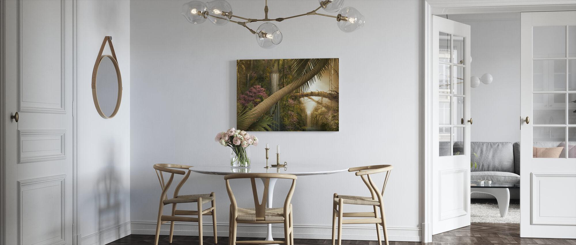Jungle Falls - Canvas print - Kitchen