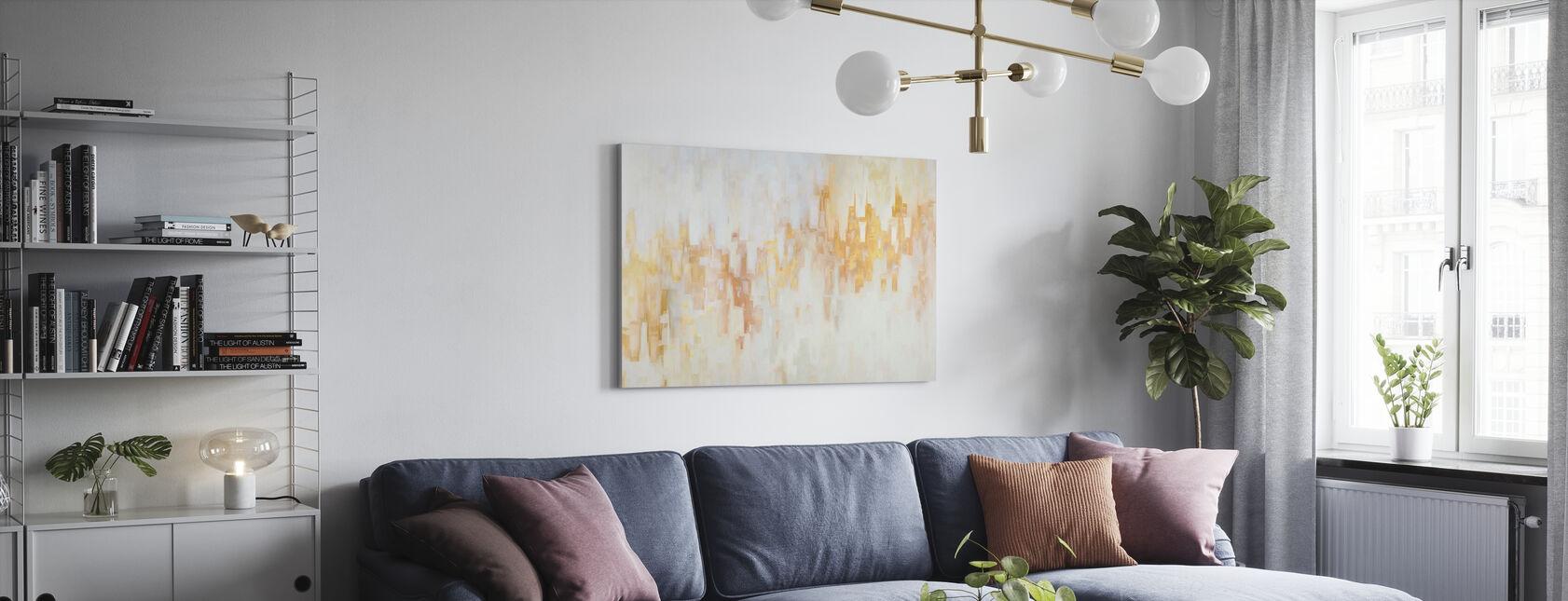 Luce Sera II - Stampa su tela - Salotto